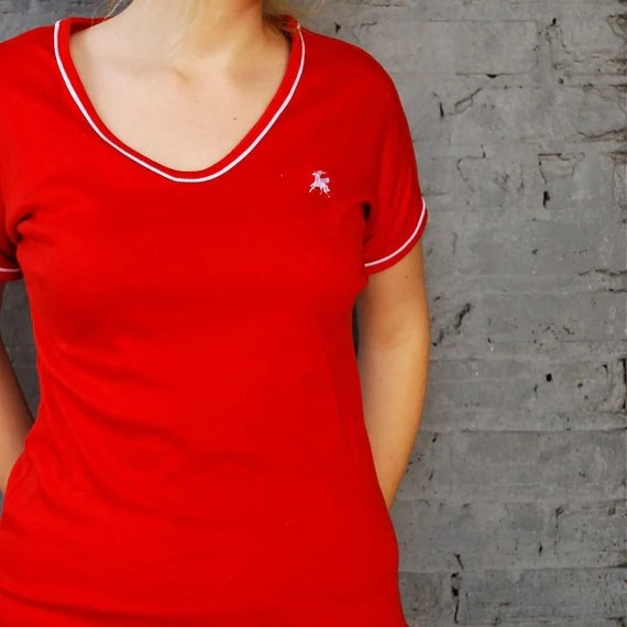 Simple Red T-Shirt
