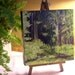 ON SALE Into the Woods an Original Oil Painting