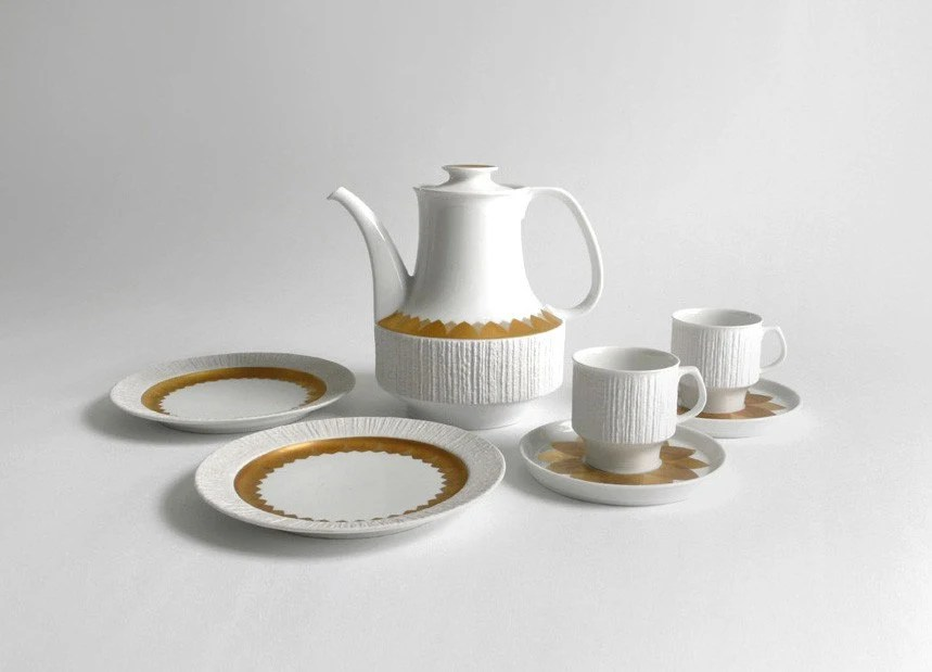 Modern German Tea Set