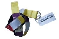 Horse show ribbon belt