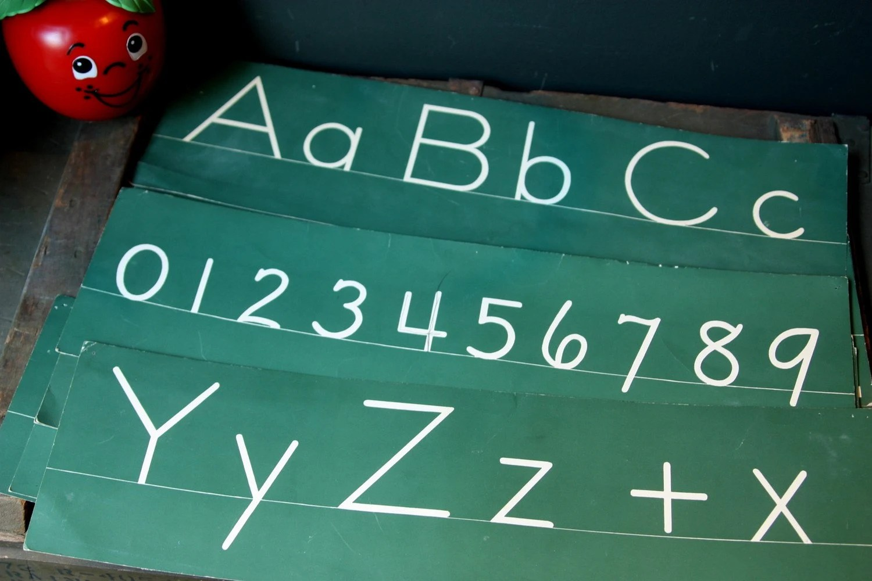 Zaner Bloser Cursive Chart Printables