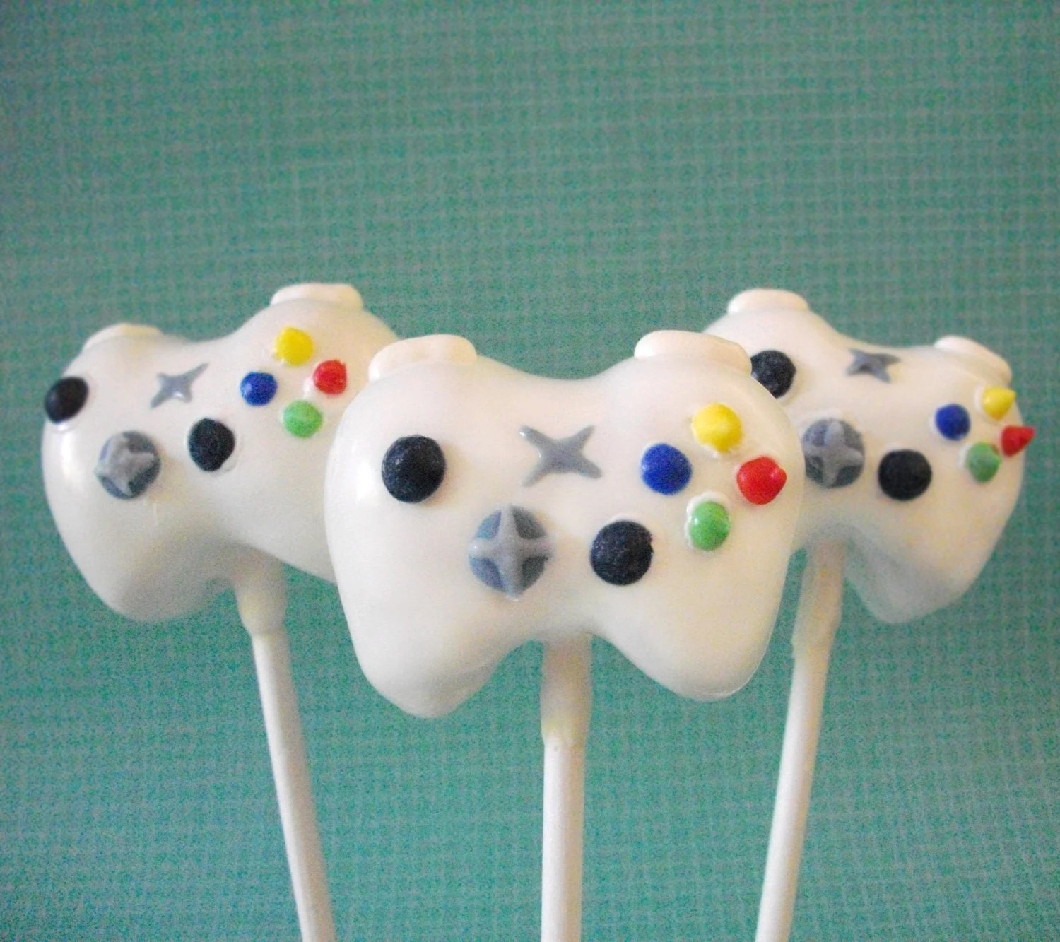 Cake Pop And Cake Ball Ideas Xbox 360 Cake Pops