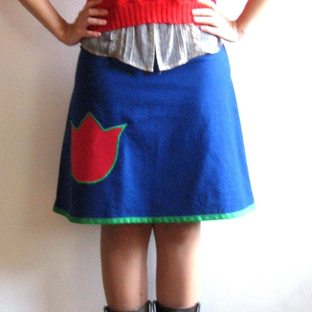 Indigo Feet Tulip Skirt