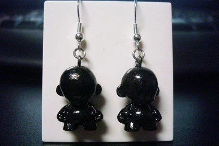 kidrobot munny earrings