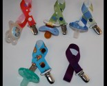 Lot of Five (5) Pacifier Clips Binky Holders NUK MAM Soothie Gumdrop Avent and More