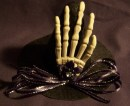 Skeleton Hand Mini Witch Hat