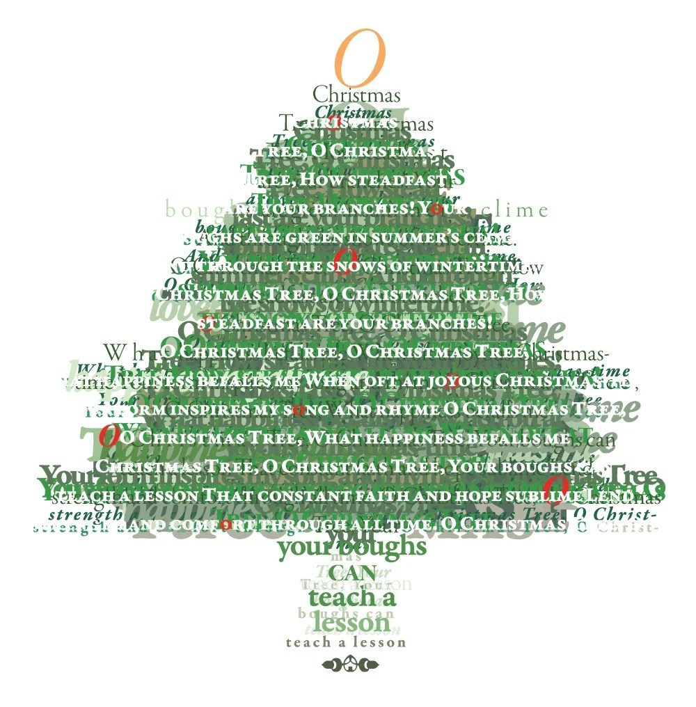 Oh Christmas Tree Card Image