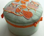 Embroidered Trinket Box