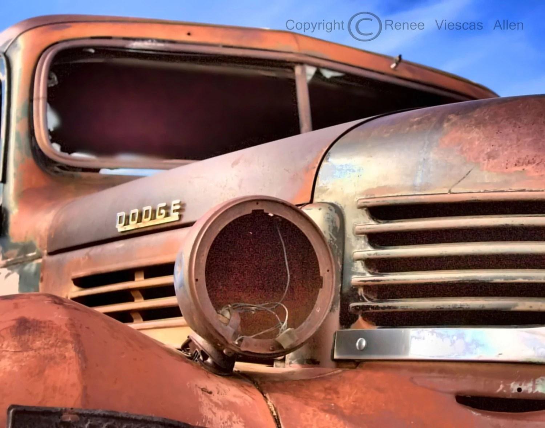 Dodge, 8 x 10 Metallic Print
