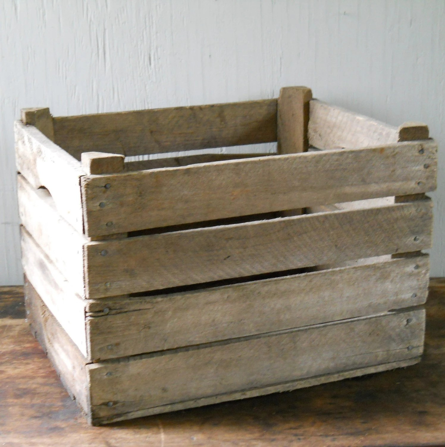 Vintage Orchard Crate