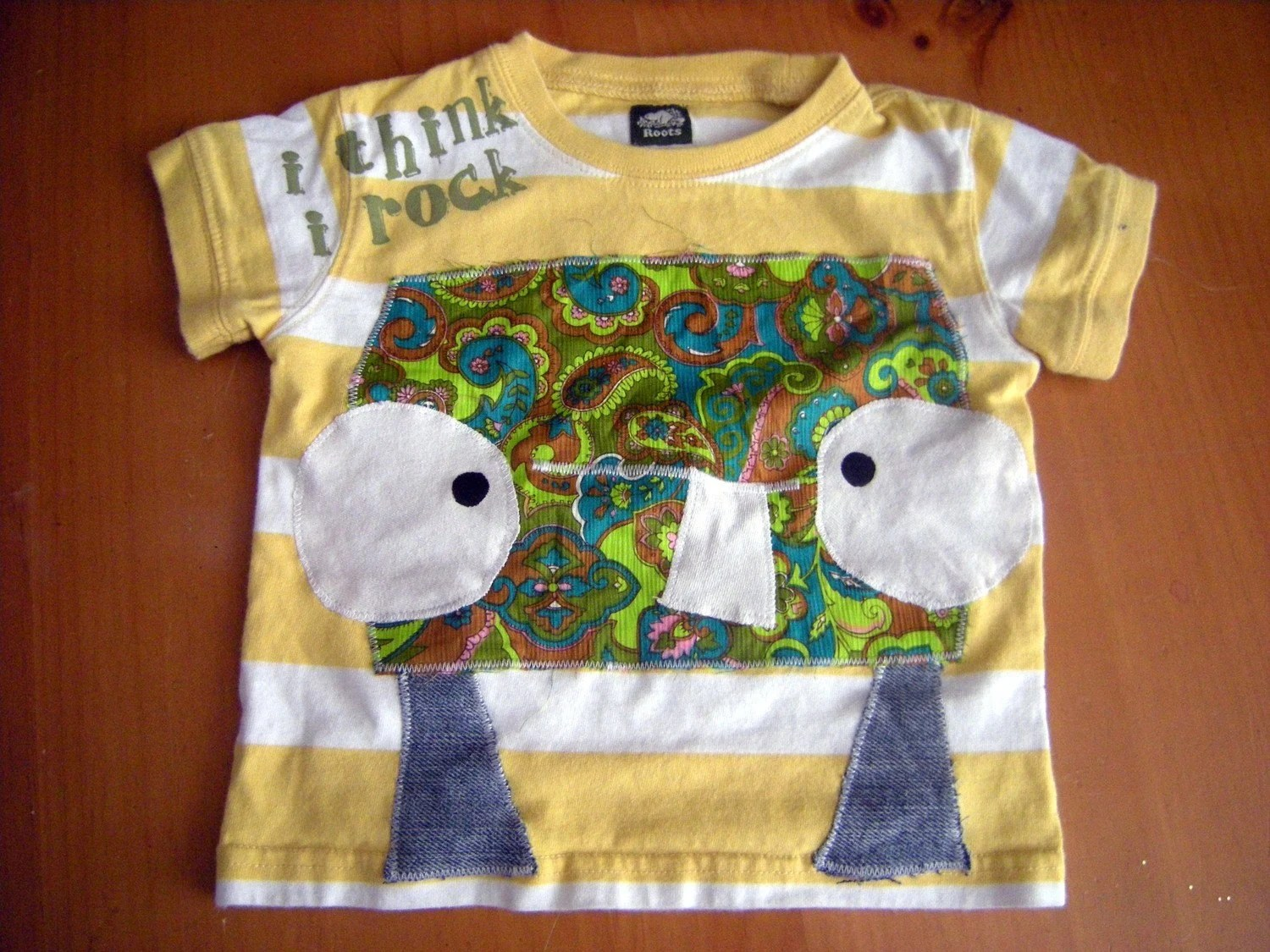 PAISLEY PETE recycled tee - 12-18 months