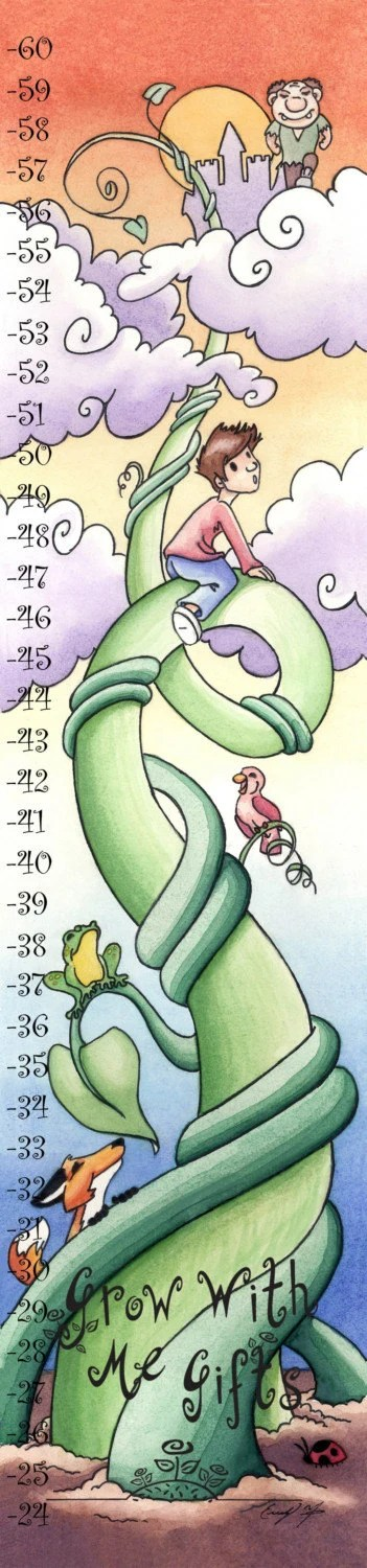 Jack and the Beanstalk Adventure and Growth Chart Kit