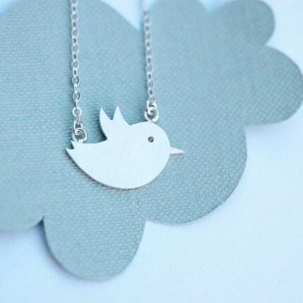 Flighty Bird Necklace