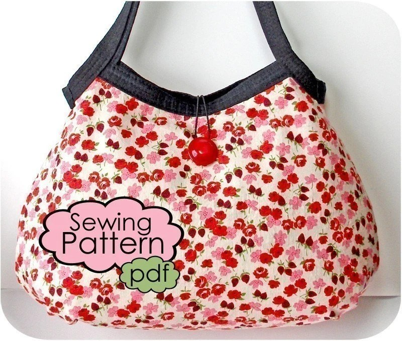 Sweetheart Shopper PDF Sewing Pattern