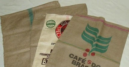 Sack Race  Bags -  FREE SHIPPING  - Used Burlap Bags - Sack Race Bag Kit  (4)