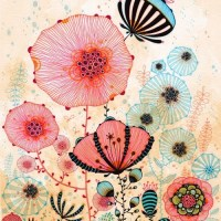 i LOVE Floral Print...