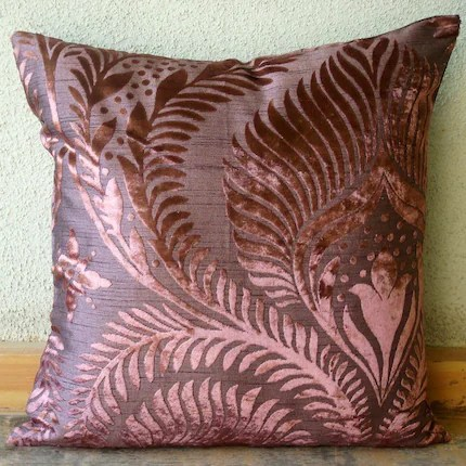 Plum Beauty - Throw Pillow Cover