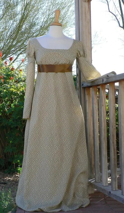 Regency Dress Basic Style
