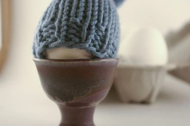 Egg cup and cozy set