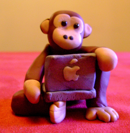 bear.etsy.com Mac Monkey