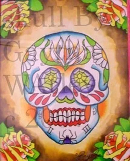 sugar skulls help? - Big Tattoo Planet Community Forum