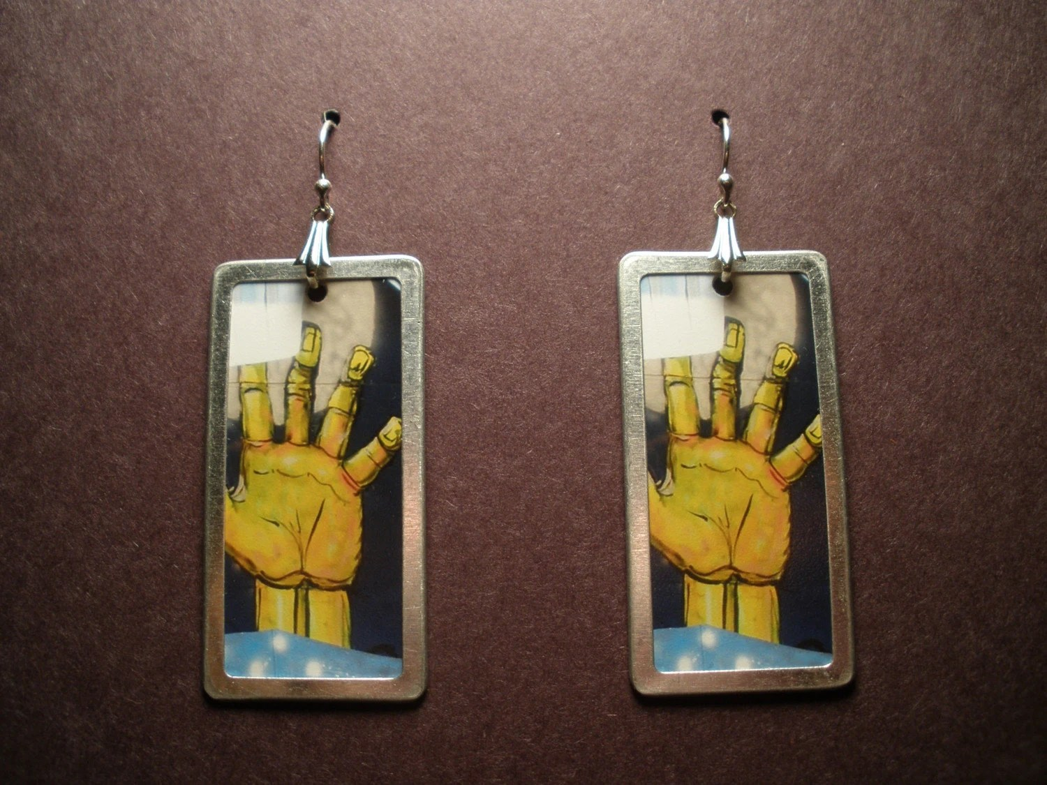 Zombie Hands - Photo Earrings