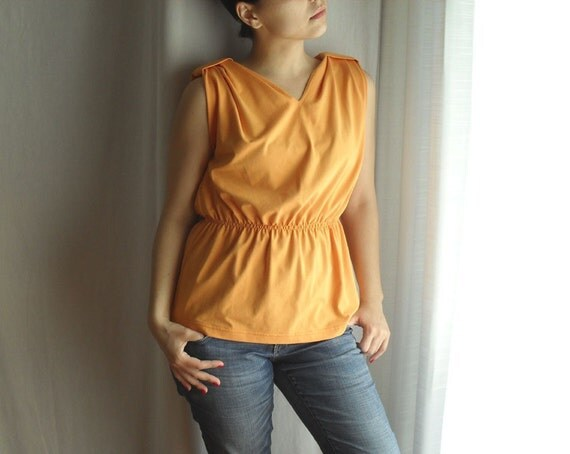 Yellow Orange Funny T-shirt