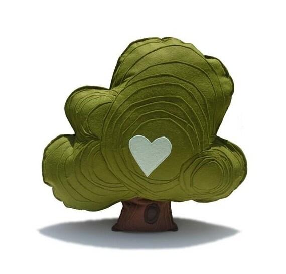 Felt Oak Tree