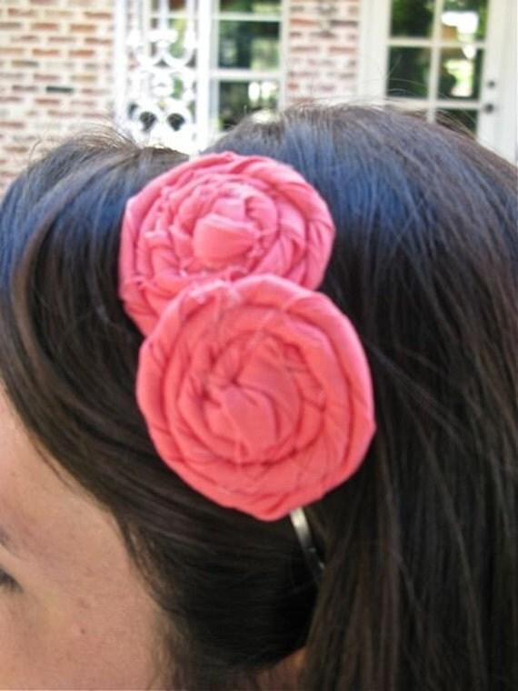 you choose double rose headband
