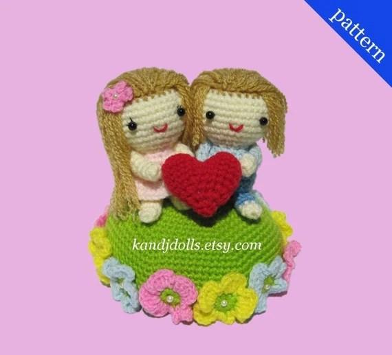Valentine Love - PDF Amigurumi crochet pattern