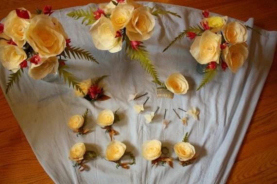 Crepe Paper Wedding
