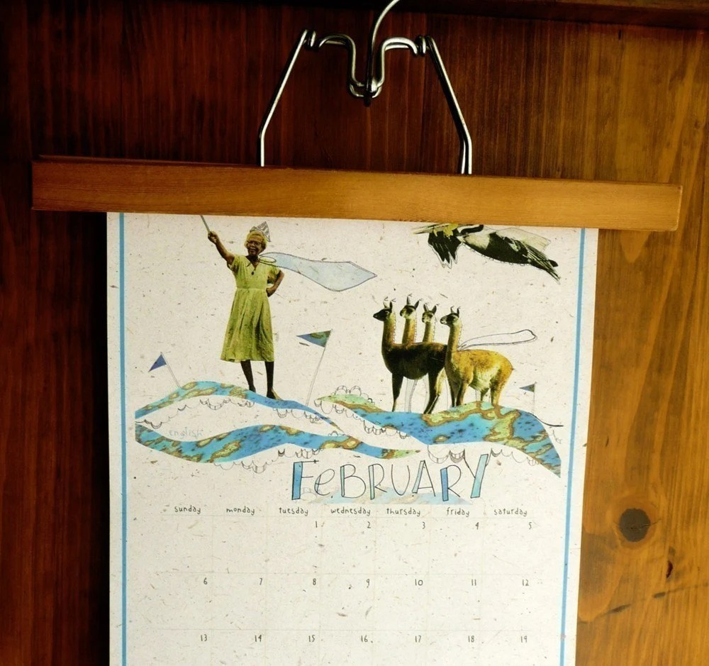 2011 eco friendly and multi lingual calendar