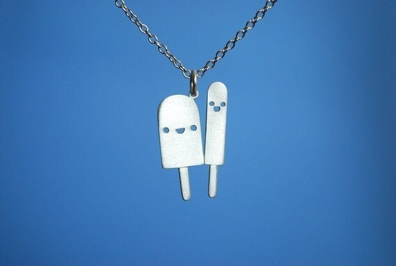Popsicle Friends Necklace