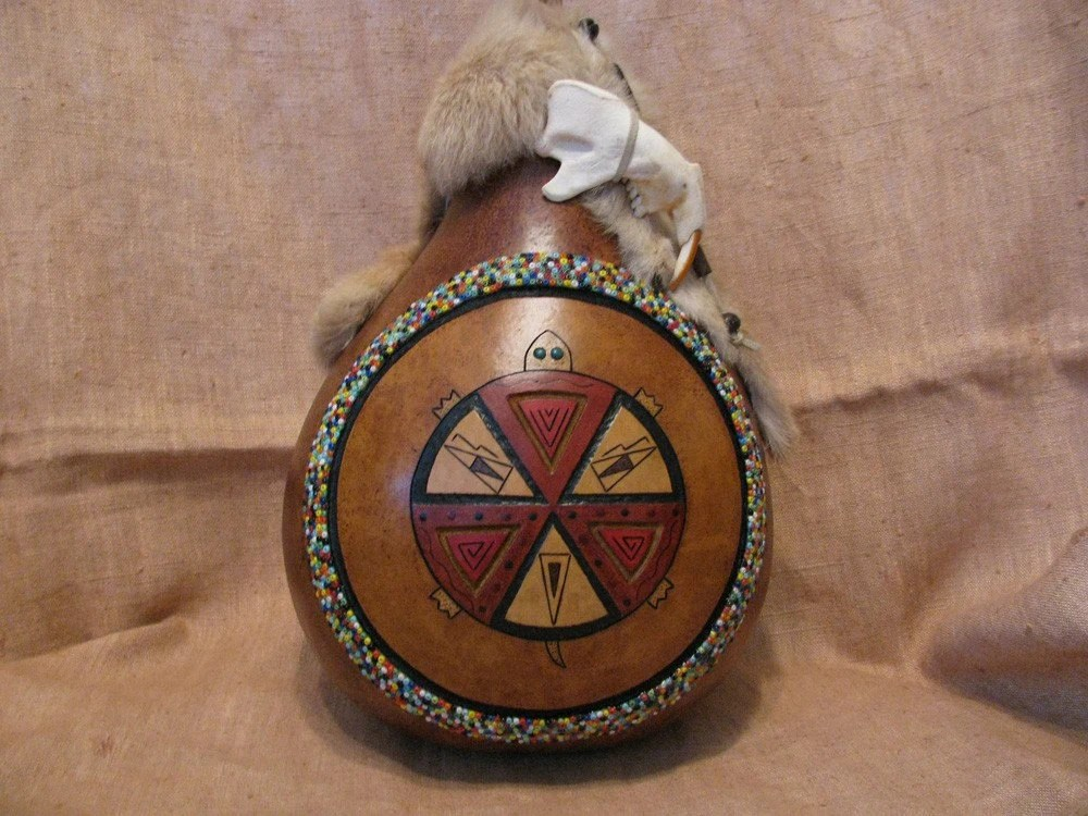 Gourd Art-Leading the People