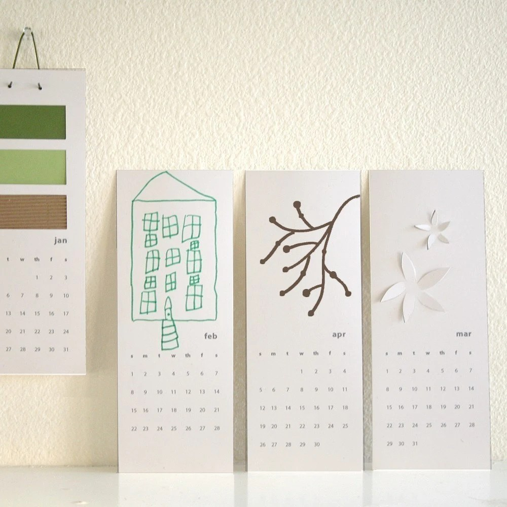 2011 blank calendar - decorate your own