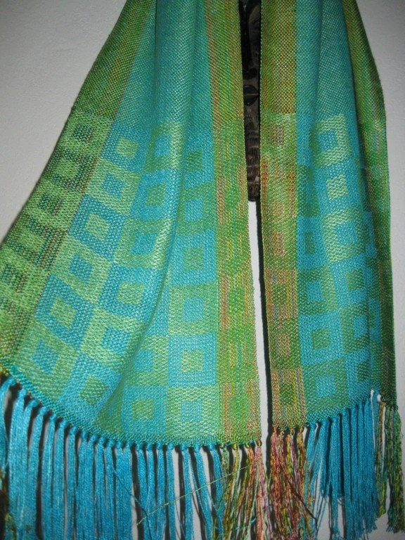 JAPAN AID - Handwoven Silk Shawl