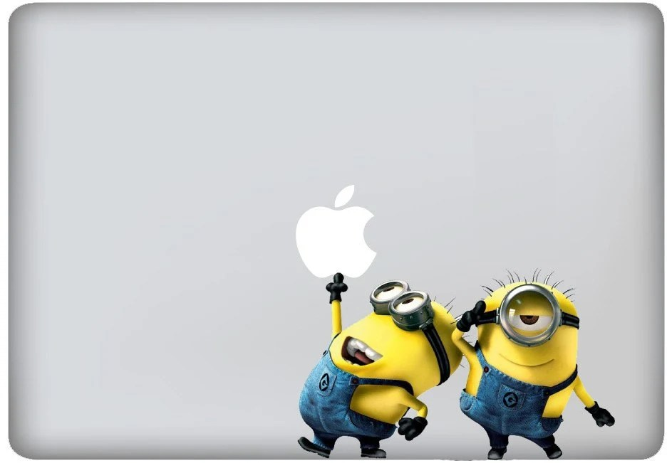 Fast US SAME DAY Ship-Macbook/Pro/Air Decal Sticker Despicable Me