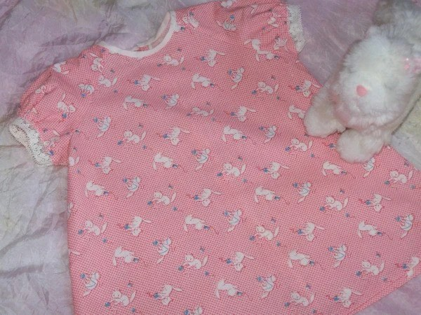 Pretty Kitty Baby Dress