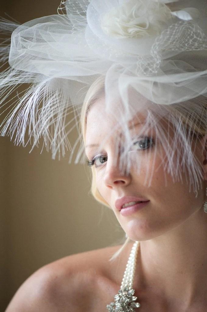 PRECIOUS - Couture Bridal Hat