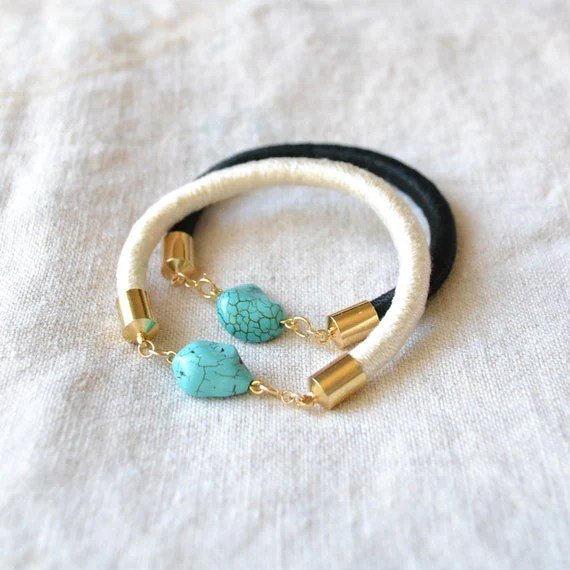 indian summer bracelet (black)