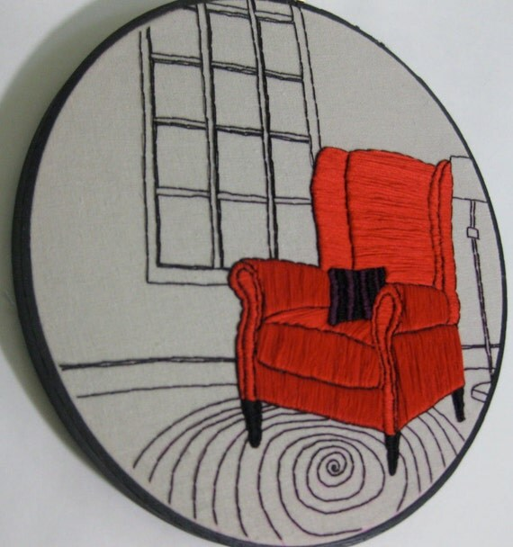 Embroidery pattern by This Tiny Existence