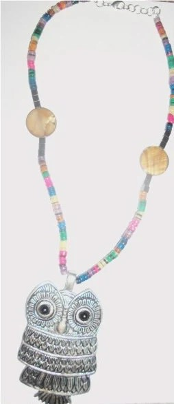 Owl On The Prowl Necklace
