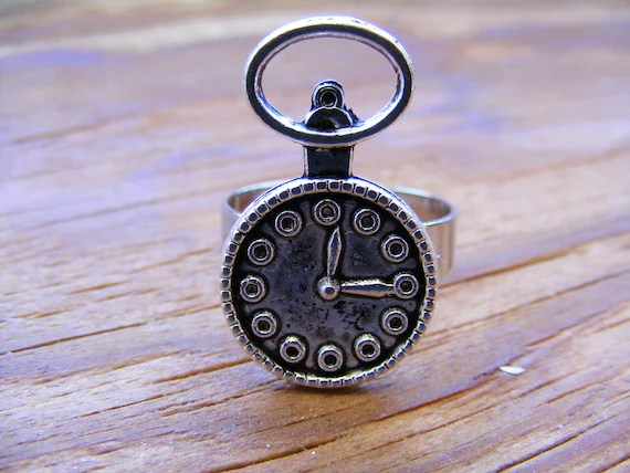 Alice  Clock Ring