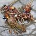 SALE  Surrealist Whirligig Necklace