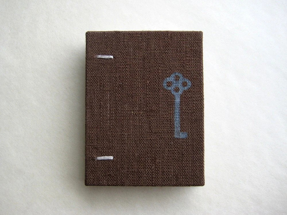 Pocket size coptic bound notebook by paperiaarre