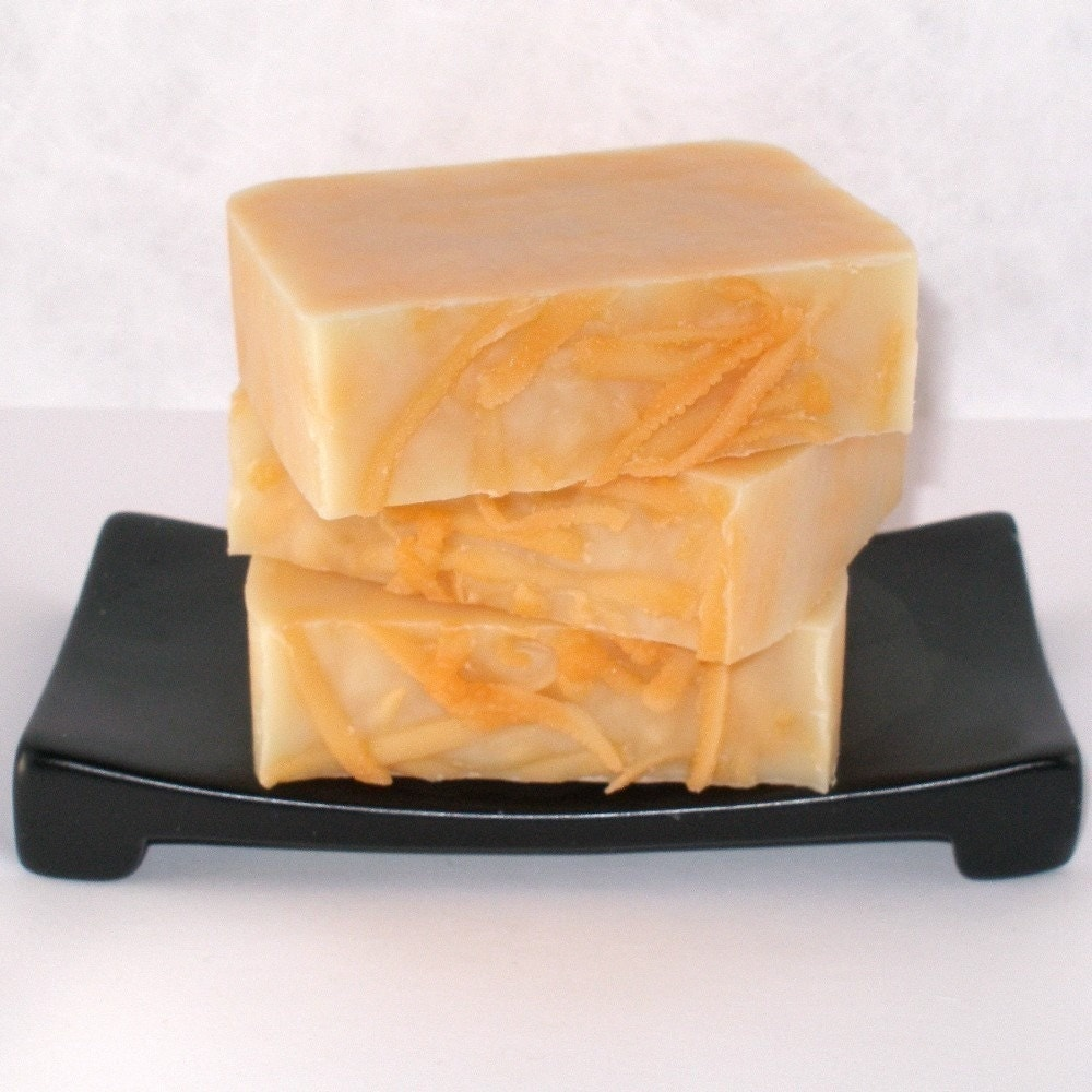 Satsuma Luxury Cold-Processed Soap with Shea and Cocoa Butters