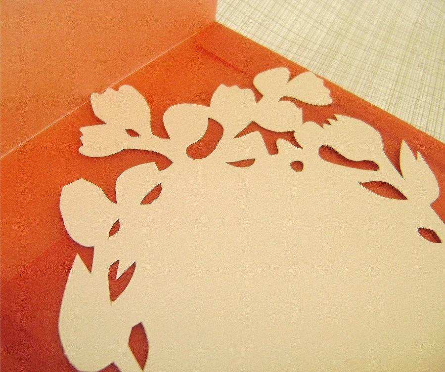 Silhouette Card with Velum Envelope