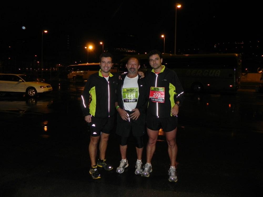 ¡¡Somos FINISHERS!! BILBAO NIGHT MARATHON 2012 (3/3)