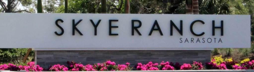 Skye Ranch Sarasota Sign