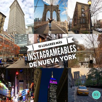 15 lugares más instagrameables de Nueva York